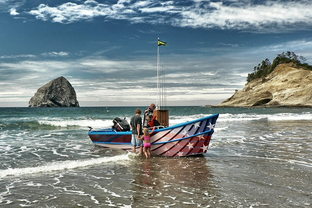Pacific City Dory Boat Web Design