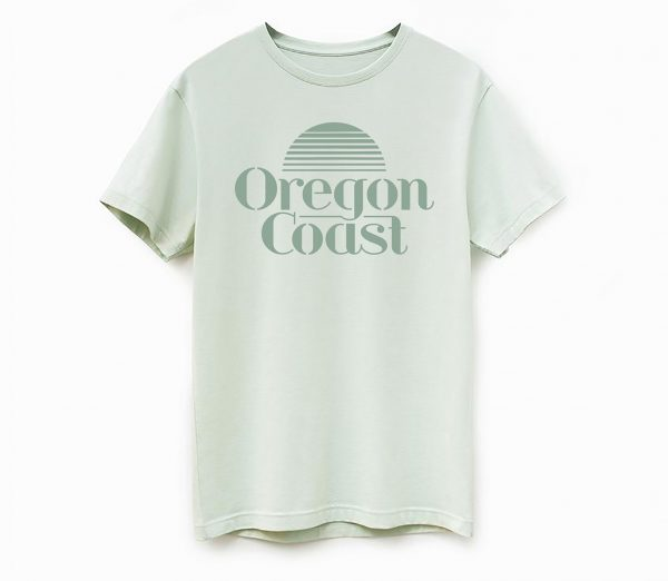 oregon coast tshirt sunset shirt