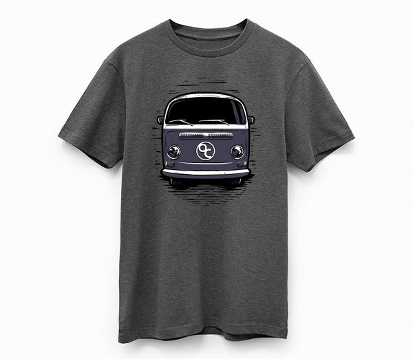 oregon coast tshirt vw van shirt